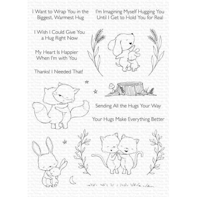 My Favorite Things Clear Stamps - Hugs Make Everything Better