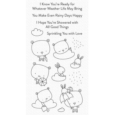My Favorite Things Clear Stamps - Sprinkling You With Love