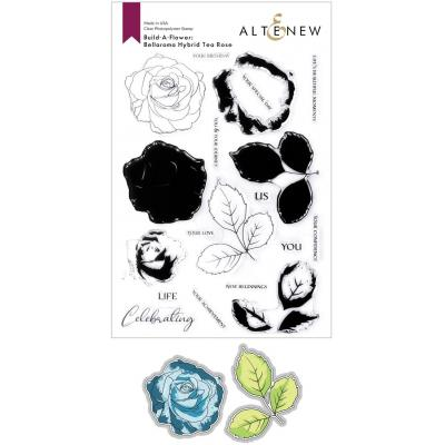 Altenew Clear Stamps - Build-A-Flower: Bellaroma Hybrid Tea Rose Layering