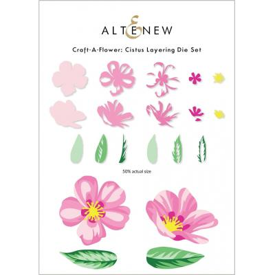 Altenew Die Set - Craft-A-Flower Cistus Layering