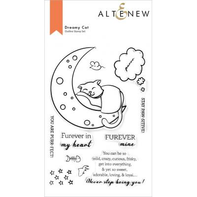 Altenew Clear Stamps - Dreamy Cat