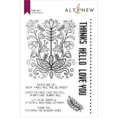 Altenew Clear Stamps - Folk Art