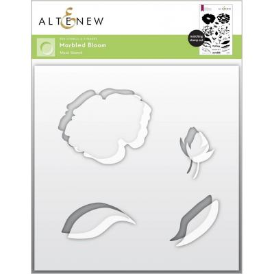 Altenew Stencil - Marbled Bloom