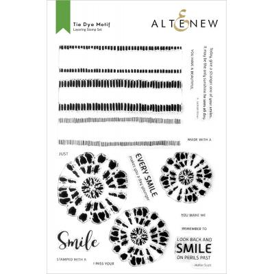 Altenew Clear Stamps - Tie Dye Motifs