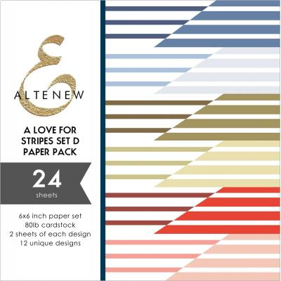 Altenew A Love For Stripes Set Designpapier - Paper Pack