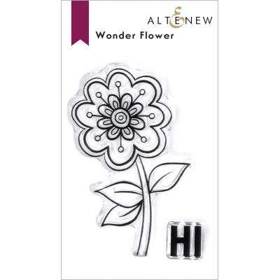 Altenew Clear Stamps - Wonder Flower