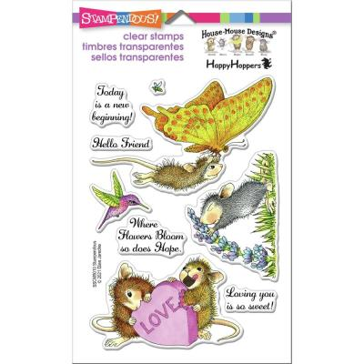 Stampendous House Mouse Clear Stamps - A New Beginning