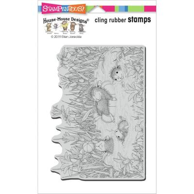 Stampendous House Mouse Cling Stamp - Pool Play