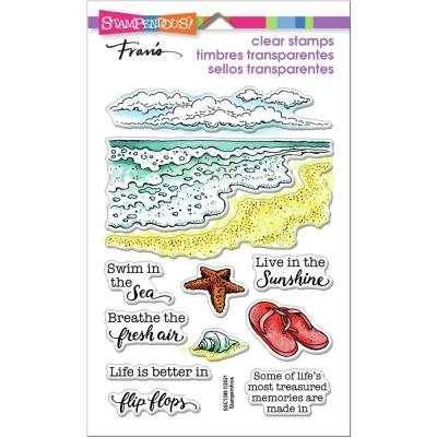Stampendous Perfectly Clear Stamps - Ocean Frames