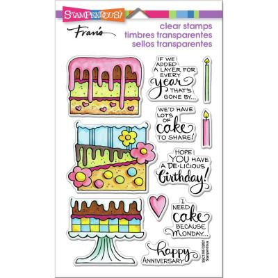 Stampendous Perfectly Clear Stamps - Slim Cake