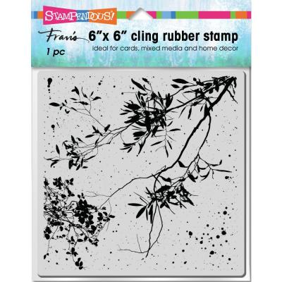 Stampendous Cling Stamp - Wispy Branches