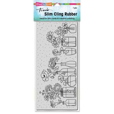 Stampendous Cling Stamp - Slim Wildflower