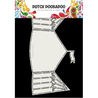 Dutch Doobadoo Card Art - Zirkuszelt
