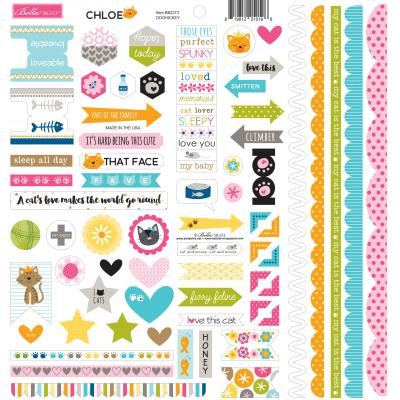 Bella BLVD Chloe Cardstock Sticker - Doohickey