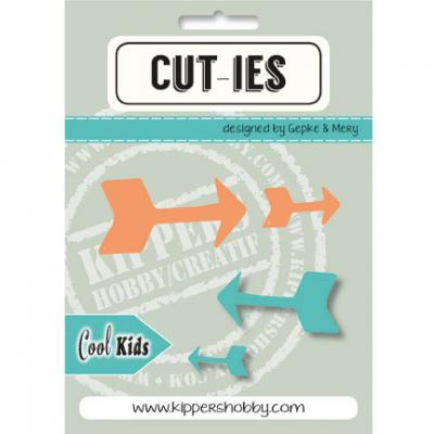 Stanzschablone CUT-IES Cool Kids Pfeile