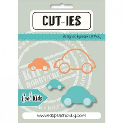 Stanzschablone CUT-IES Cool Kids Auto