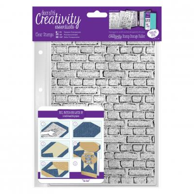 Creativity Essentials Clear Stamps - Mauerwerk
