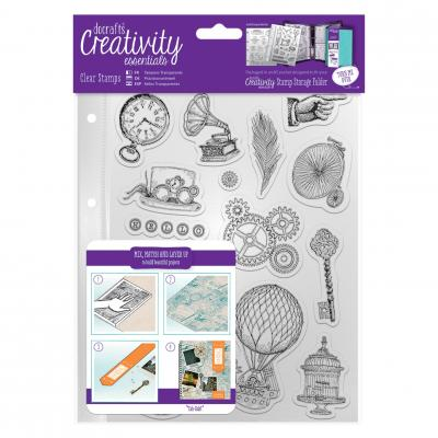 Creativity Essentials Clear Stamps - Steampunk