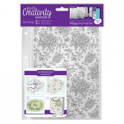 Creativity Essentials Clear Stamps - Blümchen