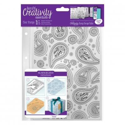 Creativity Essentials Clear Stamps - Paisleymuster