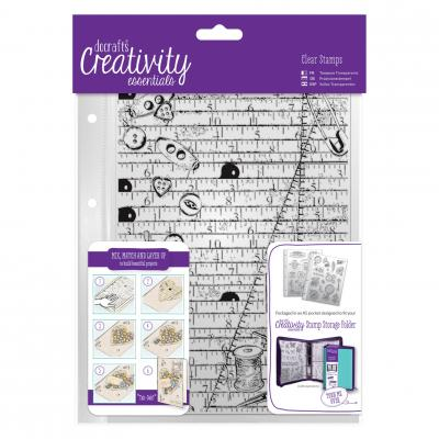 Creativity Essentials Clear Stamps - Kurzwaren
