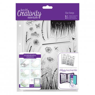 Creativity Essentials Clear Stamps - Wiese