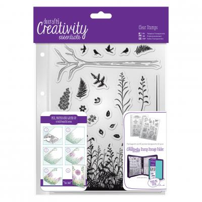 Creativity Essentials Clear Stamps - Wald