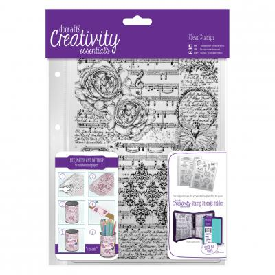Creativity Essentials Clear Stamps - Musikalität