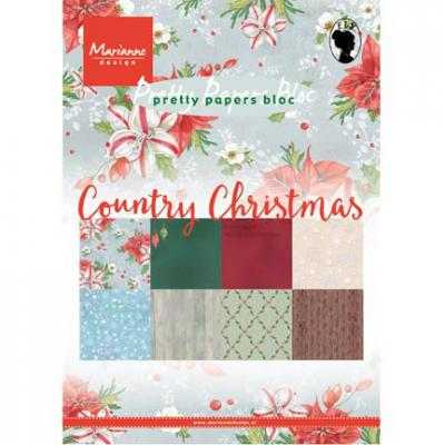 Papierblock DIN A5 Country Christmas