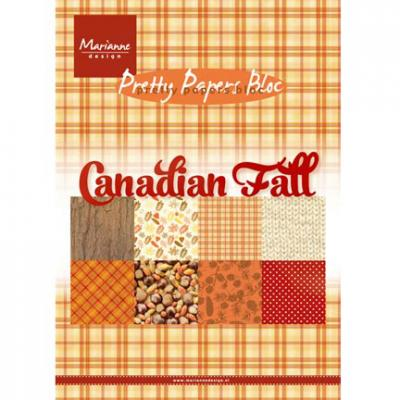 Papierblock DIN A5 Canadian Fall
