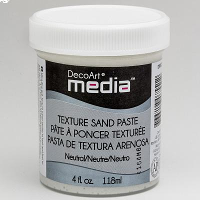 Mixed Media Texture Sand Paste