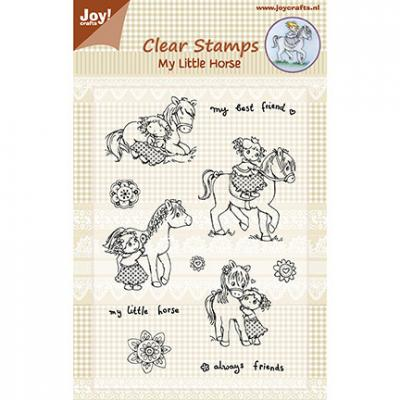 Joy!Crafts Clear Stamps - My Little Horse