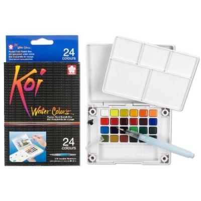 Sakura Koi Watercolor Field Sketch Box Set - 12, 24 oder 30 Farben