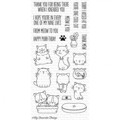 My Favorite Things Clear Stamp: Cool Cat