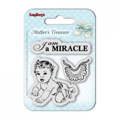 Mother's Treasure Stempelset Miracle
