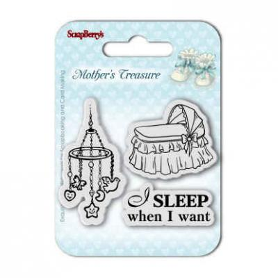 Mother's Treasure Stempelset Sleep When I Want