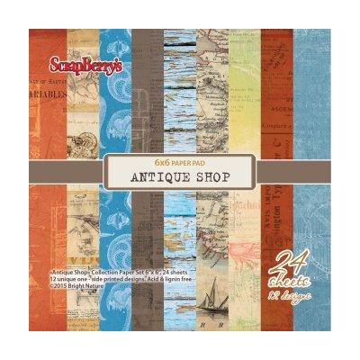 ScrapBerry's Antique Shop 6x6'' Paper Pack