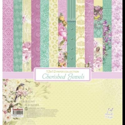 ScrapBerry's Cherished Jewels 12x12'' Paper Pack