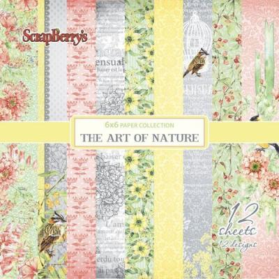 ScrapBerry's The Art of Nature 6x6'' Paper Pack