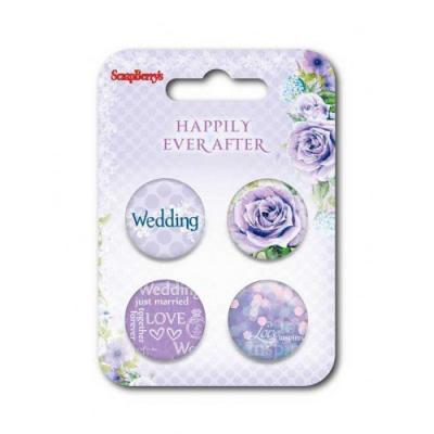 ScrapBerry's Embellishment Set Happily Ever After 2