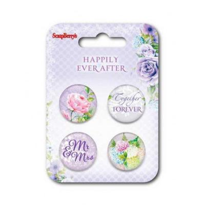 ScrapBerry's Embellishment Set Happily Ever After 1
