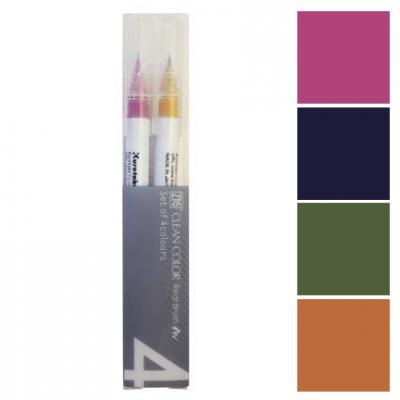ZIG Clean Color Real Brush 4er-Sets