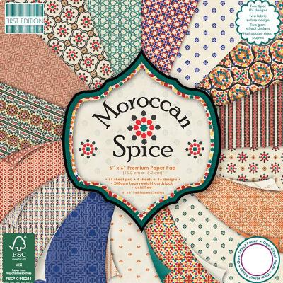 6x6'' Paper Pad Morrocan Spice