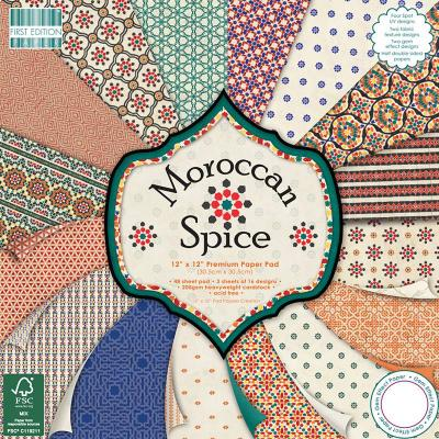 12x12'' Paper Pad Morrocan Spice