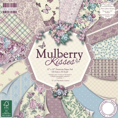 12x12'' Paper Pad Mulberry Kisses