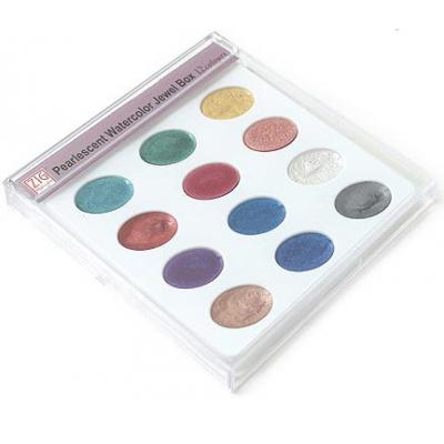 ZIG Pearlescent Watercolor Jewel Box