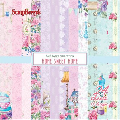 ScrapBerry's Home Sweet Home 6x6'' Paper Pack