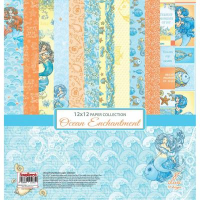ScrapBerry's Ocean Enchantment 12x12'' Paper Pack