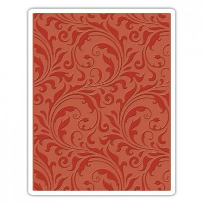 Tim Holtz Embossing Folder Flourish