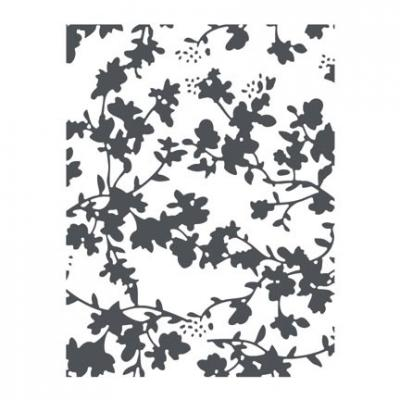 Tim Holtz Embossing Folder Floral